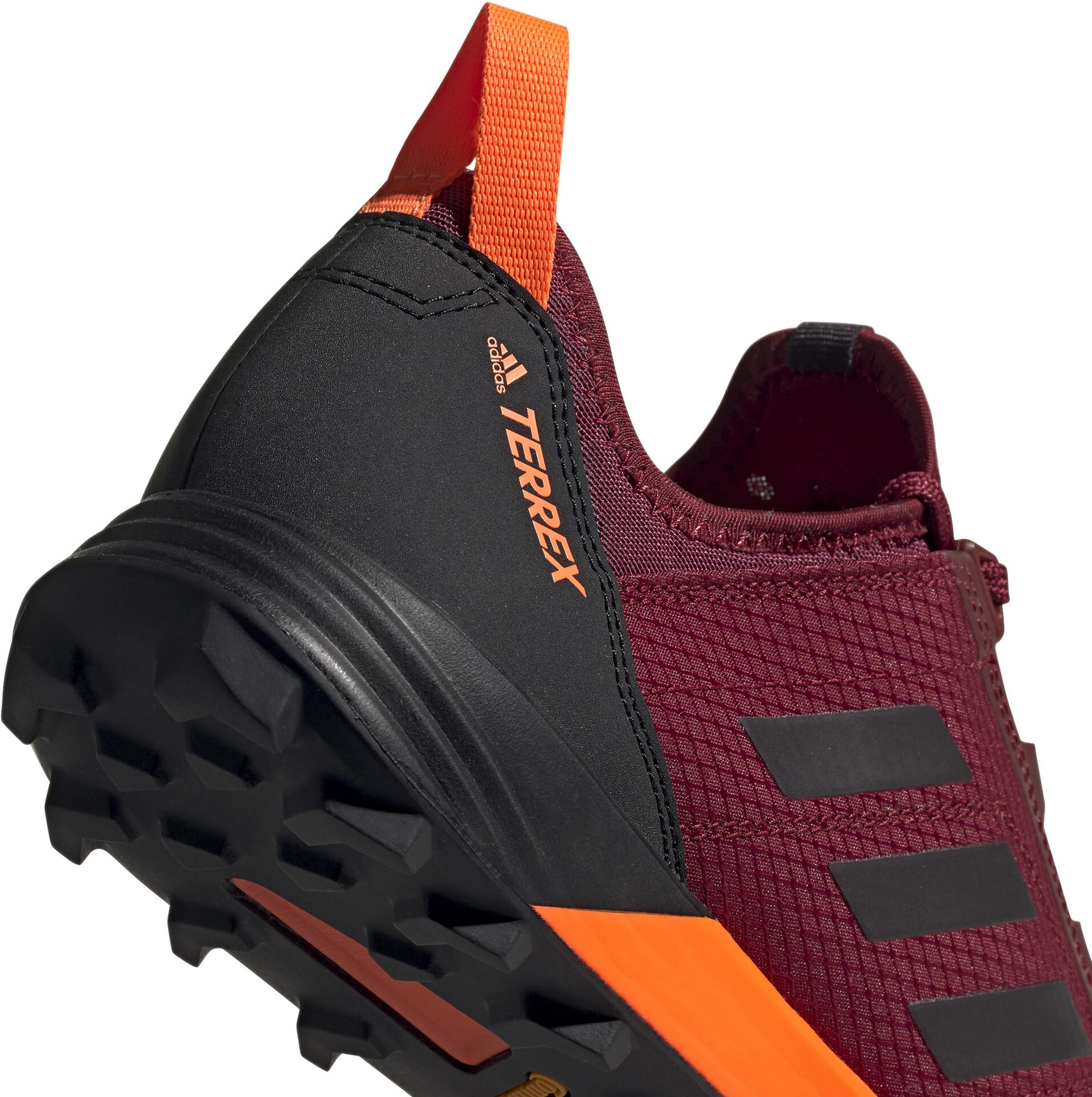 adidas TERREX Agravic Speed Shoes Herren collegiate burgundycore blacksolar orange